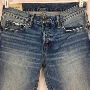 ABERCROMBIE & FITCH 31X34 Button Fly Jeans Mens
